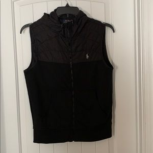 Gently used Navy Blue Polo Vest